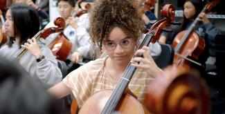 """Image from ARTBOUND """"Arts Education"""" (courtesy of KCET)."""