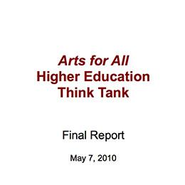 Higher Education Think Tank