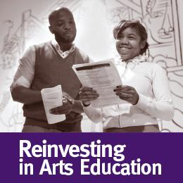 Reinvesting in Arts Education